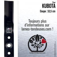 Lame tondeuse. Coupe 52,5 cm. Kubota