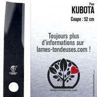 Lame tondeuse. Coupe 52 cm. Kubota