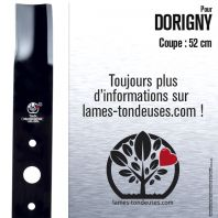 Lame pour Dorigny 201012. Coupe 52 cm