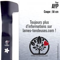 Lame tondeuse. Coupe 50 cm. AYP