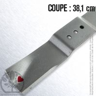 Lame tondeuse. Coupe 38,1 cm. Countax